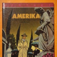 Cómics: AMERIKA DETECTIVE EN HOLLYWOOD . POR BERTHET . JUVENTUD . DIFICIL !. Lote 29995654