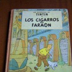 Cómics: TINTIN LOS CIGARROS DEL FARAON SEGUNDA EDICION 1965. Lote 30361181