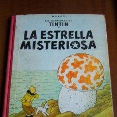 Cómics: TINTIN LA ESTRELLA MISTERIOSA SEGUNDA EDICION 1965. Lote 30361692