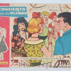 Cómics: CONCIERTO PARA DOS PIANOS COLECCION SUSANA. TU POESIA PREFERIDA CONVERTIDA EN REALIDAD. Lote 30784451