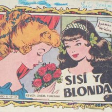Cómics: SISI Y BLONDA. REVISTA JUVENIL FEMENINA. AÑO III. Nº 115. Lote 30784470