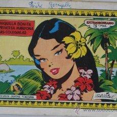 Cómics: CHIQUILLA BONITA. PRINCESA MANDONA. LAS COLEGIALAS.COLECCION AZUCENA. REVISTA JUVENIL FEMENINA.. Lote 30784527