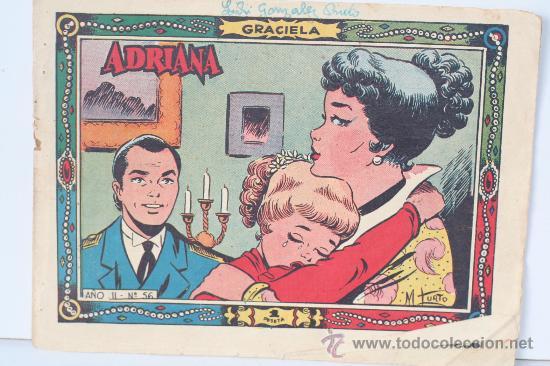 ADRIANA. COLECCION GRACIELA. AÑO II. Nº 56 (Tebeos y Comics - Juventud - Otros)