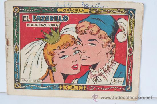 EL LAZARILLO. COLECCION GRACIELLA.REVISTA PARA TODOS. AÑO II Nº 69 (Tebeos y Comics - Juventud - Otros)