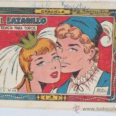 Cómics: EL LAZARILLO. COLECCION GRACIELLA.REVISTA PARA TODOS. AÑO II Nº 69. Lote 30784617