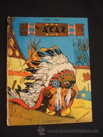YAKARI - Nº 1 - 1ª EDICIÓ 1979 - EDIT. JUVENTUT - EN CATALÀ - (Tebeos y Comics - Juventud - Yakary)
