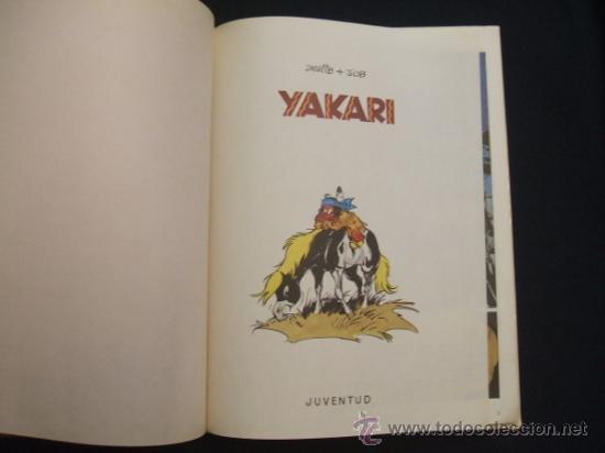 Cómics: YAKARI - Nº 1 - 1ª EDICIÓ 1979 - EDIT. JUVENTUT - EN CATALÀ - - Foto 3 - 30994695