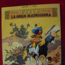 Cómics: YAKARI 10 LA GRAN MADRIGUERA - DERIB & JOB - CARTONE. Lote 126922707