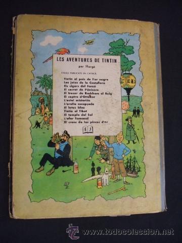 Cómics: LES AVENTURES DE TINTIN - STOC DE COC - PRIMERA (1ª) EDICION - LOMO TELA - EN CATALAN - 1967 - - Foto 9 - 31081519
