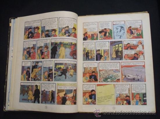 Cómics: LES AVENTURES DE TINTIN - STOC DE COC - PRIMERA (1ª) EDICION - LOMO TELA - EN CATALAN - 1967 - - Foto 14 - 31081519