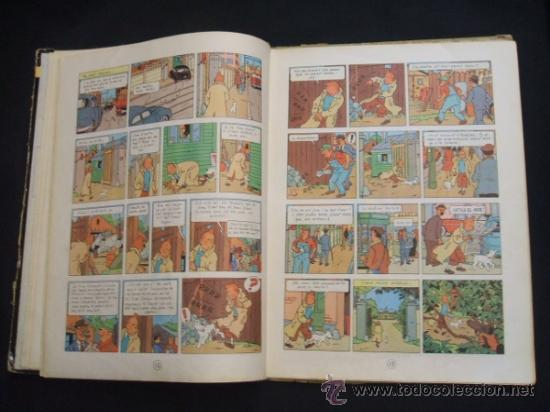 Cómics: LES AVENTURES DE TINTIN - STOC DE COC - PRIMERA (1ª) EDICION - LOMO TELA - EN CATALAN - 1967 - - Foto 15 - 31081519