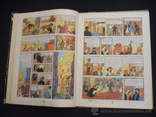 Cómics: LES AVENTURES DE TINTIN - STOC DE COC - PRIMERA (1ª) EDICION - LOMO TELA - EN CATALAN - 1967 - - Foto 17 - 31081519