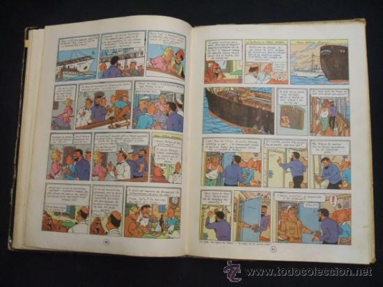 Cómics: LES AVENTURES DE TINTIN - STOC DE COC - PRIMERA (1ª) EDICION - LOMO TELA - EN CATALAN - 1967 - - Foto 19 - 31081519