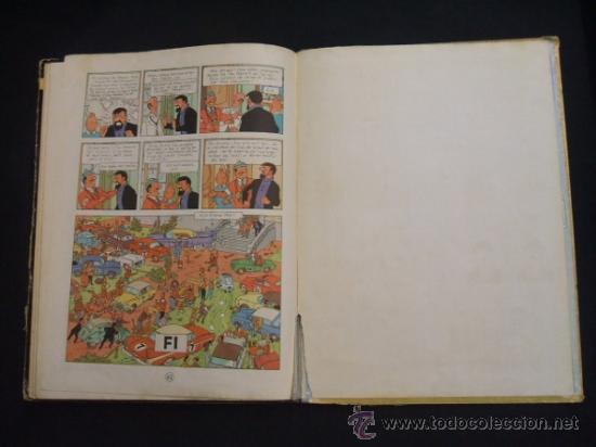 Cómics: LES AVENTURES DE TINTIN - STOC DE COC - PRIMERA (1ª) EDICION - LOMO TELA - EN CATALAN - 1967 - - Foto 23 - 31081519