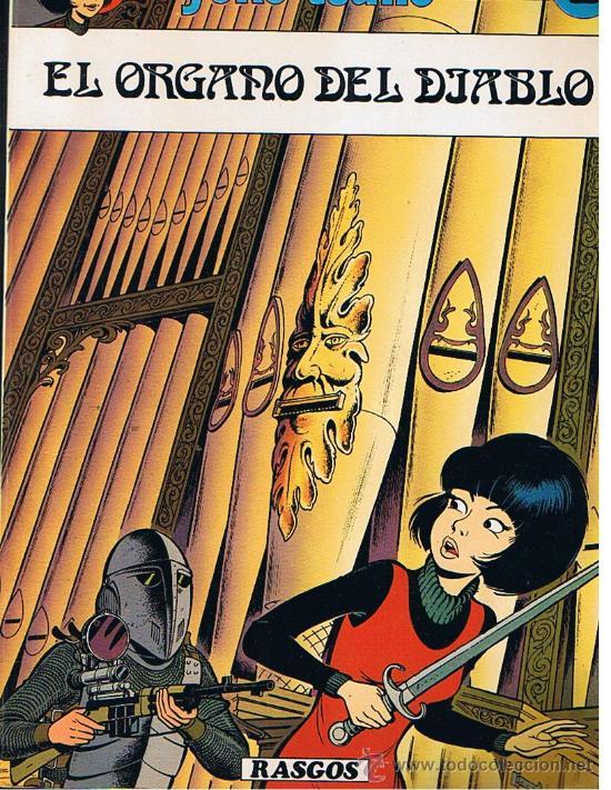 EL ORGANO DEL DIABLO 2 (Tebeos y Comics - Juventud - Yoko Tsuno)