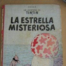 Cómics: JUVENTUD TINTIN LA ESTRELLA MISTERIOSA 2ª ED. 1964. Lote 31210304