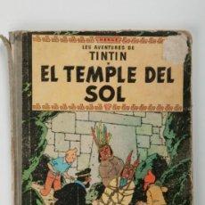 Cómics: TEBEO, TINTIN - EL TEMPLE DEL SOL, EDITORIAL JUVENTUD, AÑO 1965 - PRIMERA EDICIÓN. Lote 31408134