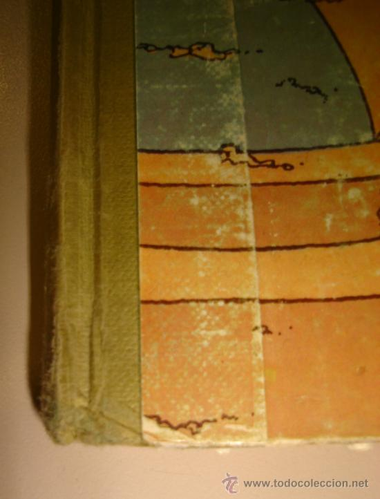 Cómics: LOS CIGARROS DEL FARAON. LAS AVENTURAS DE TINTIN. TERCERA EDICION. 1968. HERGÉ. - Foto 3 - 31408237