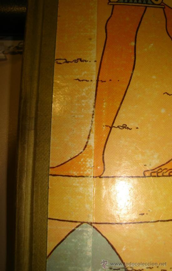 Cómics: LOS CIGARROS DEL FARAON. LAS AVENTURAS DE TINTIN. TERCERA EDICION. 1968. HERGÉ. - Foto 4 - 31408237