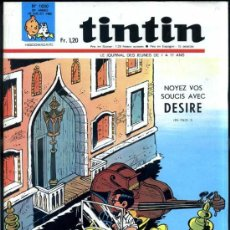 Cómics: TINTIN HEBDOMADAIRE Nº 1030 (1968). Lote 31527943
