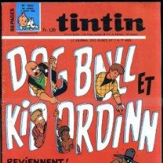 Cómics: TINTIN HEBDOMADAIRE Nº 1031 (1968). Lote 31527953