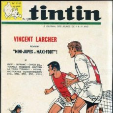 Cómics: TINTIN HEBDOMADAIRE Nº 1142 (1970). Lote 31528348