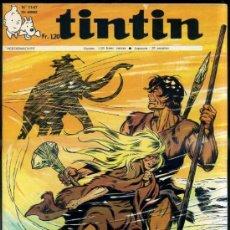 Cómics: TINTIN HEBDOMADAIRE Nº 1147 (1970). Lote 31528527