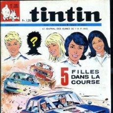 Cómics: TINTIN HEBDOMADAIRE Nº 1081 (1969). Lote 31528553