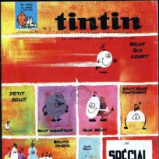 Cómics: TINTIN HEBDOMADAIRE Nº 1019 (1968). Lote 31528679