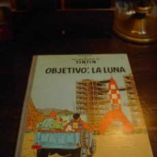 Cómics: OBJETIVO LA LUNA, TINTIN. JUVENTUD, 1965. Lote 31582000