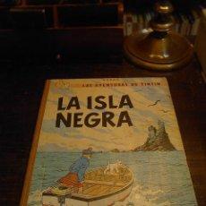 Cómics: TINTIN, LA ISLA NEGRA, JUVENTUD, TERCERA EDICION, 1969. Lote 31582159
