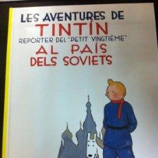 Cómics: TINTÍN 1. TINTÍN AL PAÍS DELS SOVIETS (CATALÀ) - NOVA EDICIÓ NUMERADA - JOVENTUT. Lote 122742432