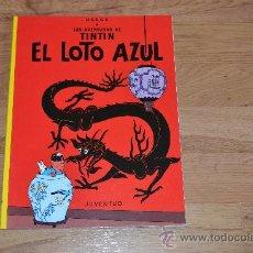 Cómics: TINTIN. EL LOTO AZUL. Lote 31884814