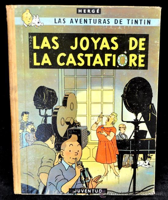 LAS AVENTURAS DE TINTIN -LAS JOYAS DE CASTAFIORE- 2ª EDICION (Tebeos y Comics - Juventud - Tintín)