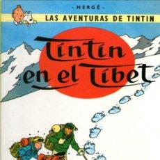 Cómics: TINTÍN EN EL TIBET - HERGÉ - EDITORIAL JUVENTUD - 18ª EDICIÓN 1996 - TAPA DURA - COMO NUEVO. Lote 31910295