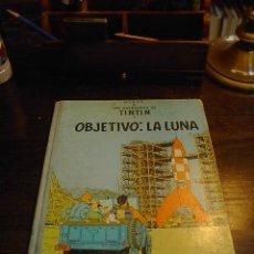 Cómics: OBJETIVO LA LUNA, TINTIN. JUVENTUD, 1965. Lote 31965197