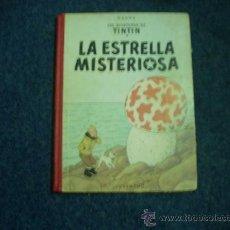 Cómics: TINTIN - LA ESTRELLA MISTERIOSA EN LOMO TELA 1964 - HERGE. Lote 32063083