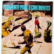 Cómics: PASAPORTE PARA 3 CONTINENTES-FRANVAL-30 PAG EXTRA-GACETA JUNIOR-TINTIN-PALIN PALOTES CONCURSO. Lote 32068502