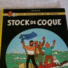 Cómics: TINTÍN. STOCK DE COQUE. TAPAS DURAS. 62 PÁGINAS. IMPECABLE. EDITORIAL JUVENTUD. UNDÉCIMA EDICIÓN.. Lote 32120487