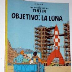 Cómics: LAS AVENTURAS DE TINTIN .OBJETIVO LA LUNA.EDIT.JUVENTUD 1983. Lote 32134769