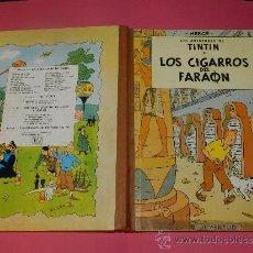 Cómics: (M-22) LAS AVENTURAS DE TINTIN - LOS CIGARROS DEL FARAON , EDT JUVENTUD 1972, 4 EDC. Lote 32308502