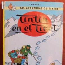 Cómics: LAS AVENTURAS DE TINTIN: TINTIN EN EL TIBET EDICION 1985. Lote 32366481