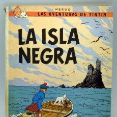 Comics - Tintín La Isla Negra Hergé Ed Juventud 1977 5ª edición - 32472938