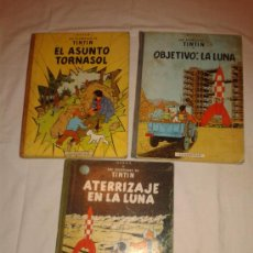Cómics - 3 TOMOS TINTIN - 32927616