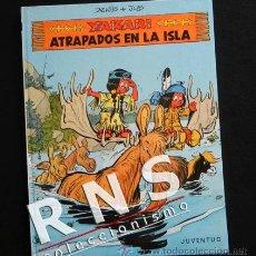 Cómics: YAKARI ATRAPADOS EN LA ISLA - CÓMIC NUEVO - EDITORIAL JUVENTUD 9 - NIÑO INDIO YAKARY - TAPA DURA. Lote 33043194