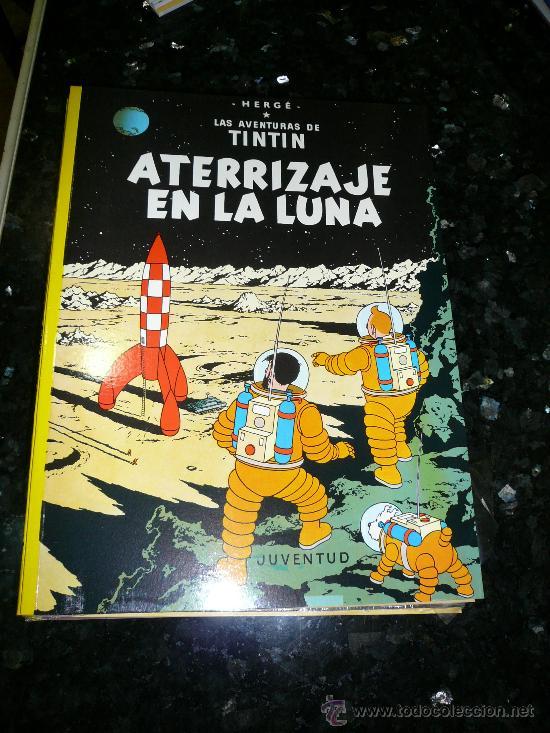 ATERRIZAJE EN LA LUNA. (Tebeos y Comics - Juventud - Tintín)