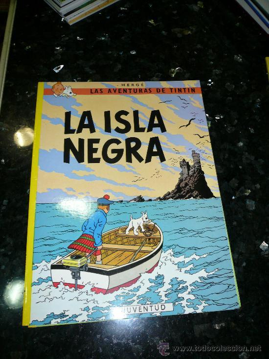 LA ISLA NEGRA (Tebeos y Comics - Juventud - Tintín)