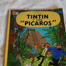 Cómics: TINTIN. TINTIN Y LOS PICAROS. Lote 85648223