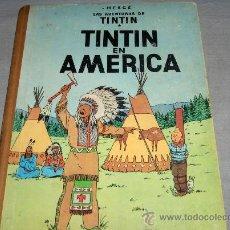Comics : TINTIN EN AMÉRICA. PRIMERA EDICIÓN. JUVENTUD 1968. GENERAL.. Lote 40558711