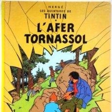 Cómics: TINTIN L'AFER TORNASOL - HERGÉ - EDITORIAL JUVENTUD 1996 TAPA DURA EN CATALÁN / CATALÀ - . Lote 33900669
